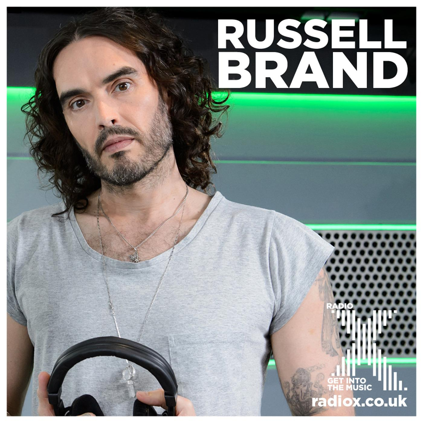 Russell Brand on Radio X Podcast